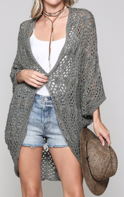 Cocoon Cardi ~ olive