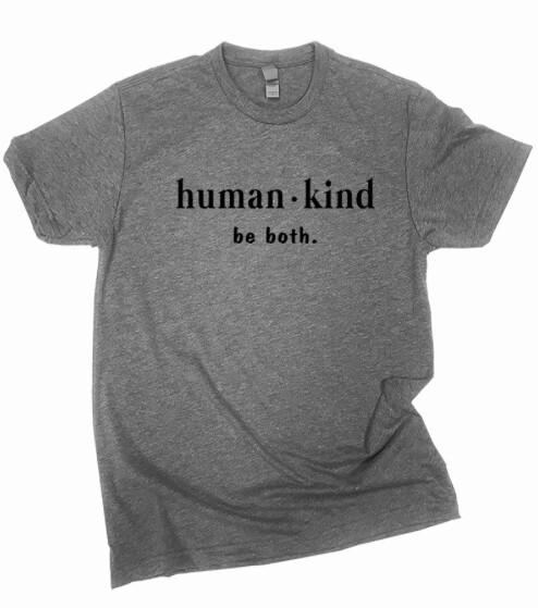 human | kind ~ grey tee