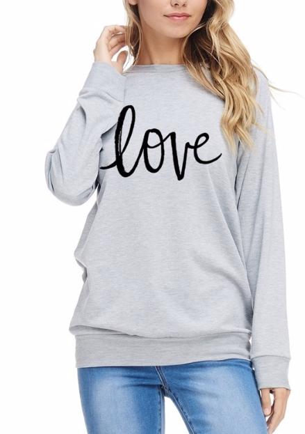 Cozy Love ~ light grey