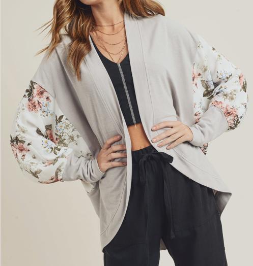 Kimono Cardigan ~ stone