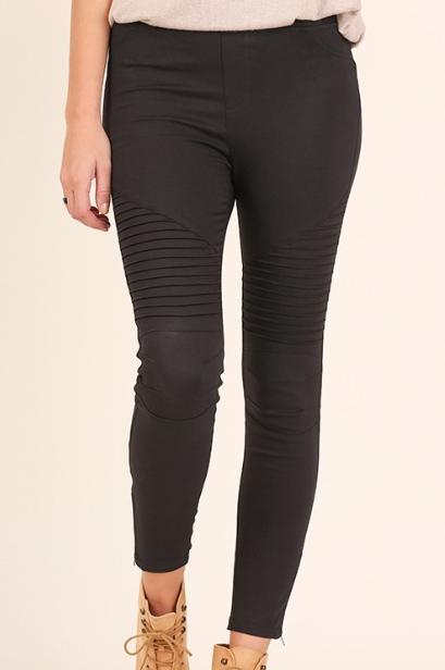 Basic Black Moto Pant