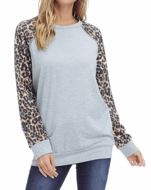 Basically Leopard ~ light grey