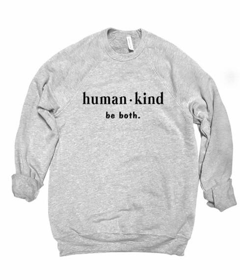 Human * Kind ~ Light grey