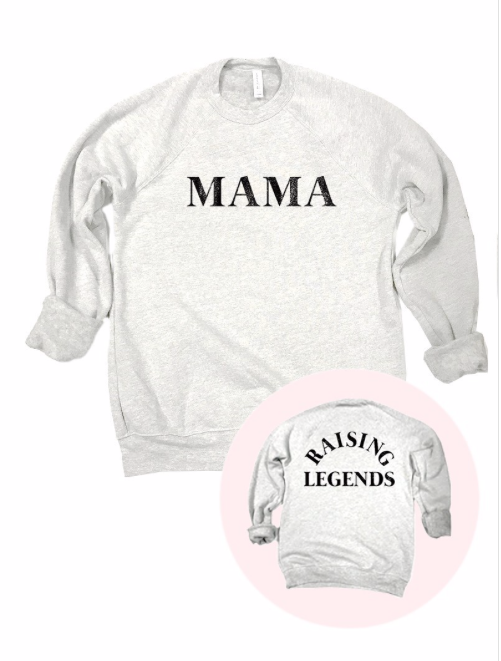 MAMA - Raising Legends | Ash Grey