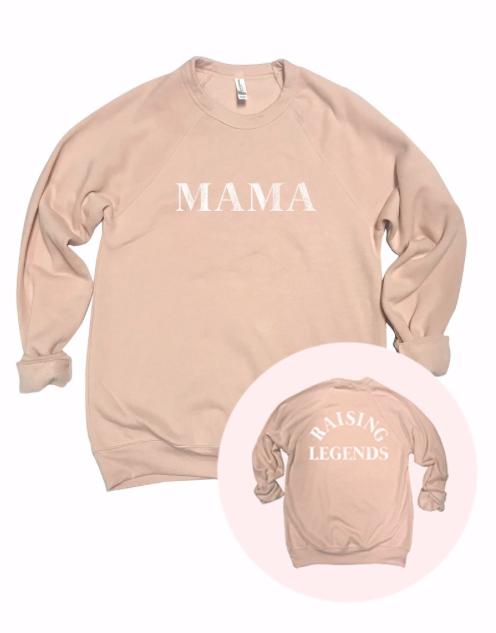 MAMA - Raising Legends | light peach