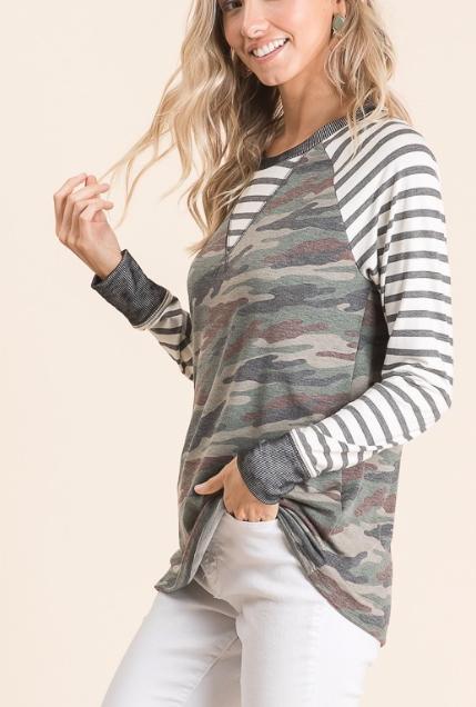 Camo + Stripes