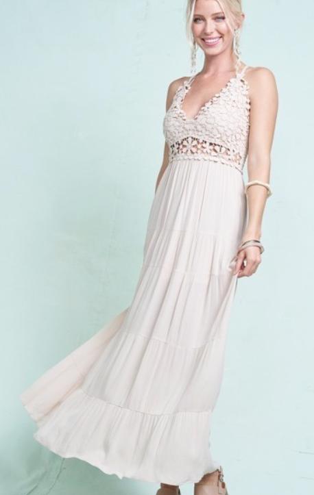Breeze MAXI Dress ~ natural