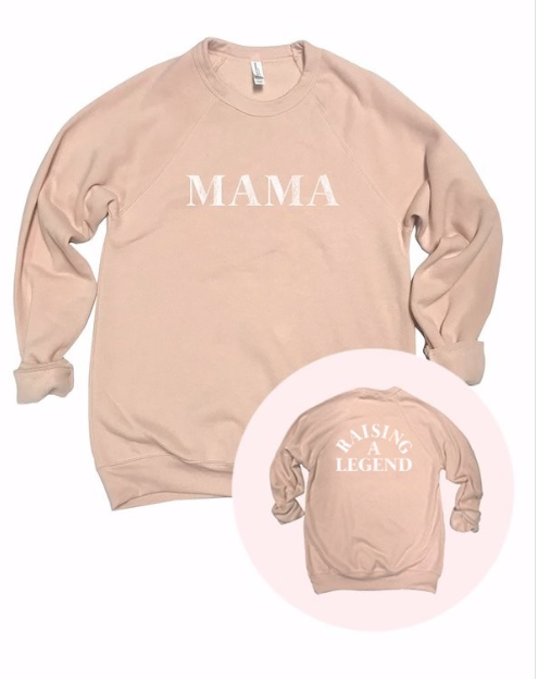 MAMA - RAISING A LEGEND | light peach