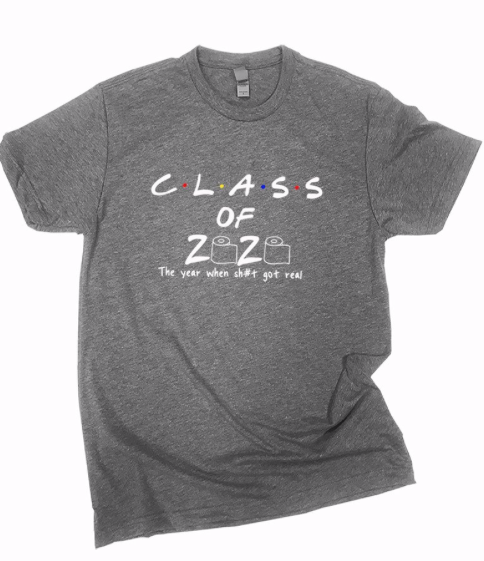 Class of 2020 ~ charcoal
