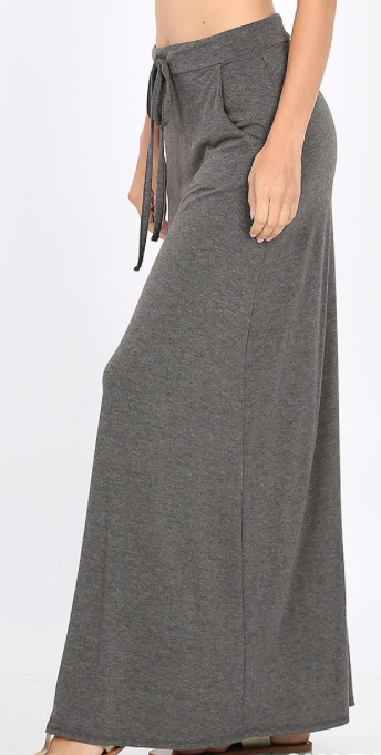 Everyday Maxi Skirt ~ charcoal