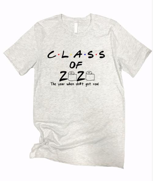 Class of 2020 ~ light heather grey