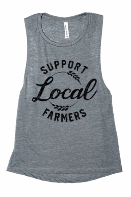 Support Local Farmers ~ charcoal