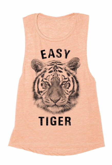 Easy Tiger ~ Light Peach