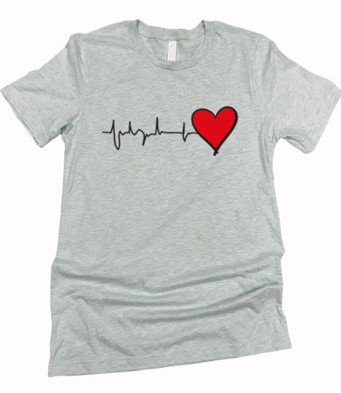 Hearts for HealthCare ~ grey