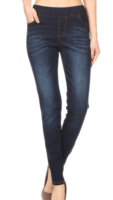 Yoga Denim ~ Dark wash