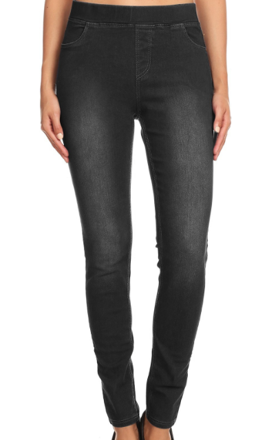Yoga Denim ~ Black wash