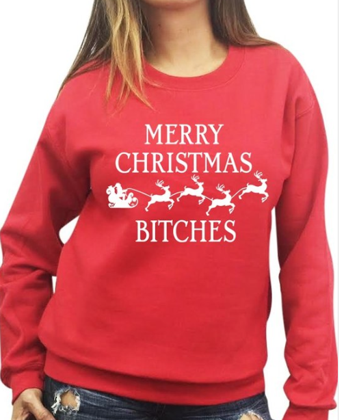 Merry Xmas B*tches ~ Red