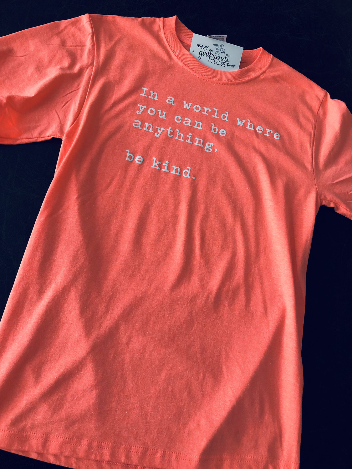 Be Kind ~ PINK SHIRT ANTI BULLY DAY Collection ~ Bright Coral