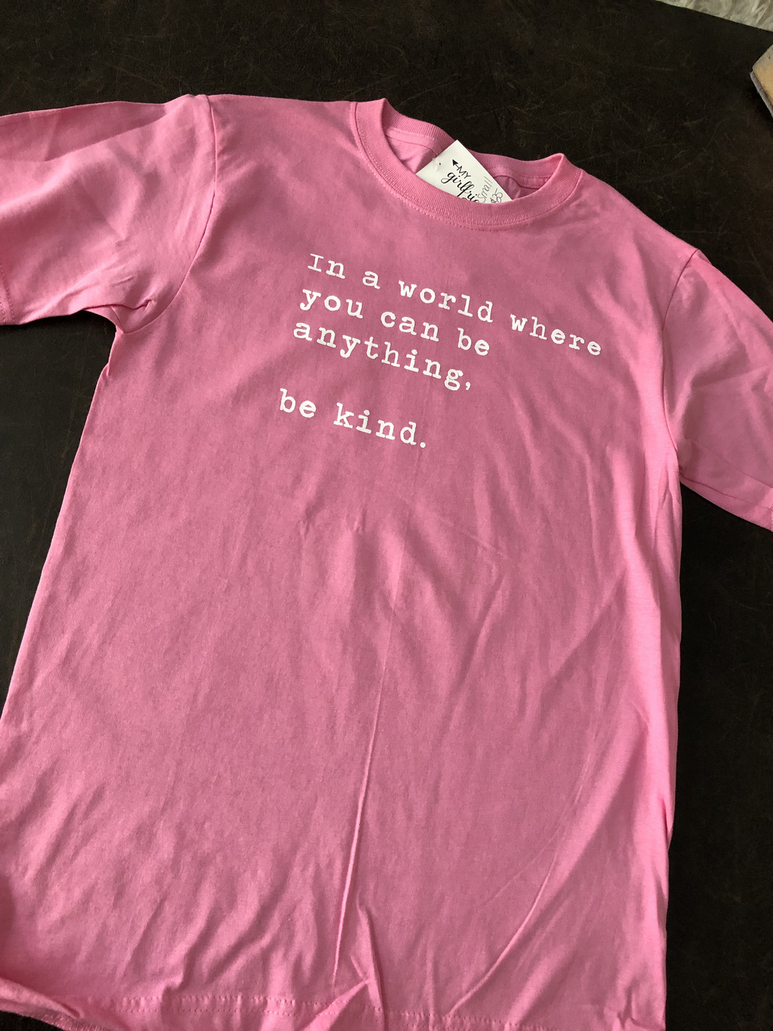 Be Kind ~ PINK SHIRT ANTI BULLY DAY Collection ~Baby Pink
