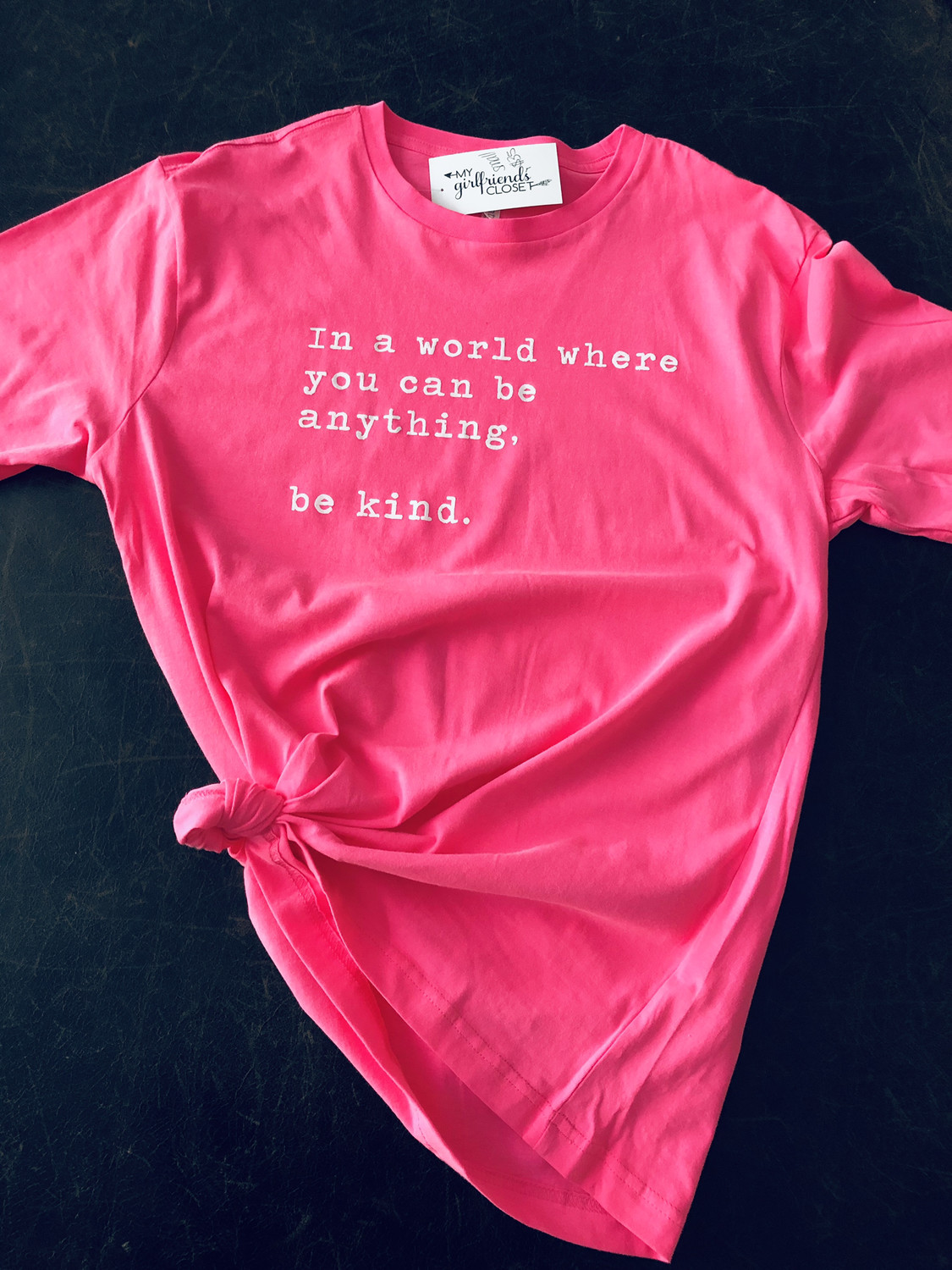 Be Kind PINK SHIRT ANTI BULLY DAY Collection ~ Hot Pink