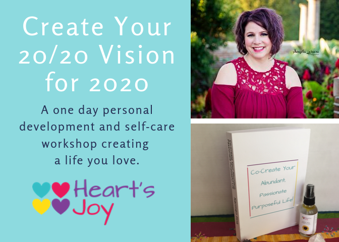 Create Your 20/20 Vision for 2020 Workshop