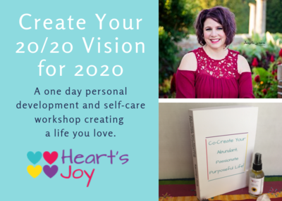 Create Your 20/20 Vision for 2020 Workshop, December 14th