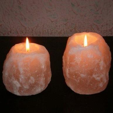 Himalayan Salt Tealight Holder 00015