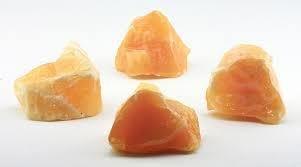 Orange Calcite Raw Energy Stone 00045