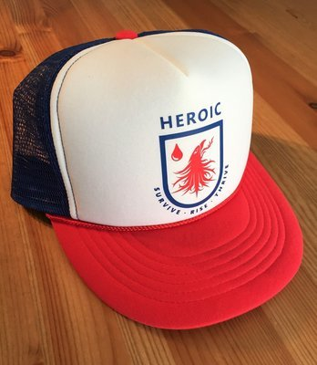 ADULT/TEEN adventure Cap, rising phoenix
