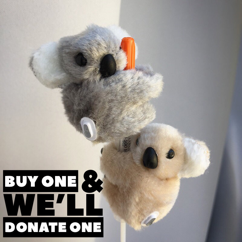 Heroic Hug, Koala with CGM, YOU BUY 1 & WE DONATE 1