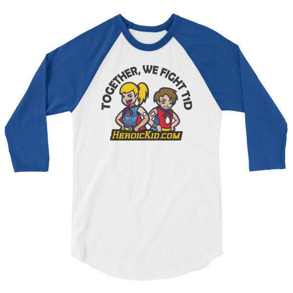 Unisex Adult, HEROIC KID OG, 3/4 sleeve raglan shirt