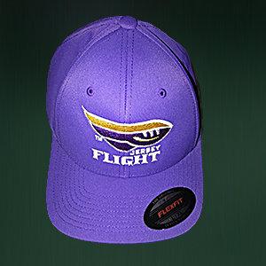 JERSEY FLIGHT Port Authority Flex-Fit Cap - Purple HPP17