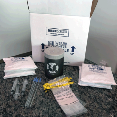Artificial Insemination Shipping Kit, With Ship-Mate version (Original)