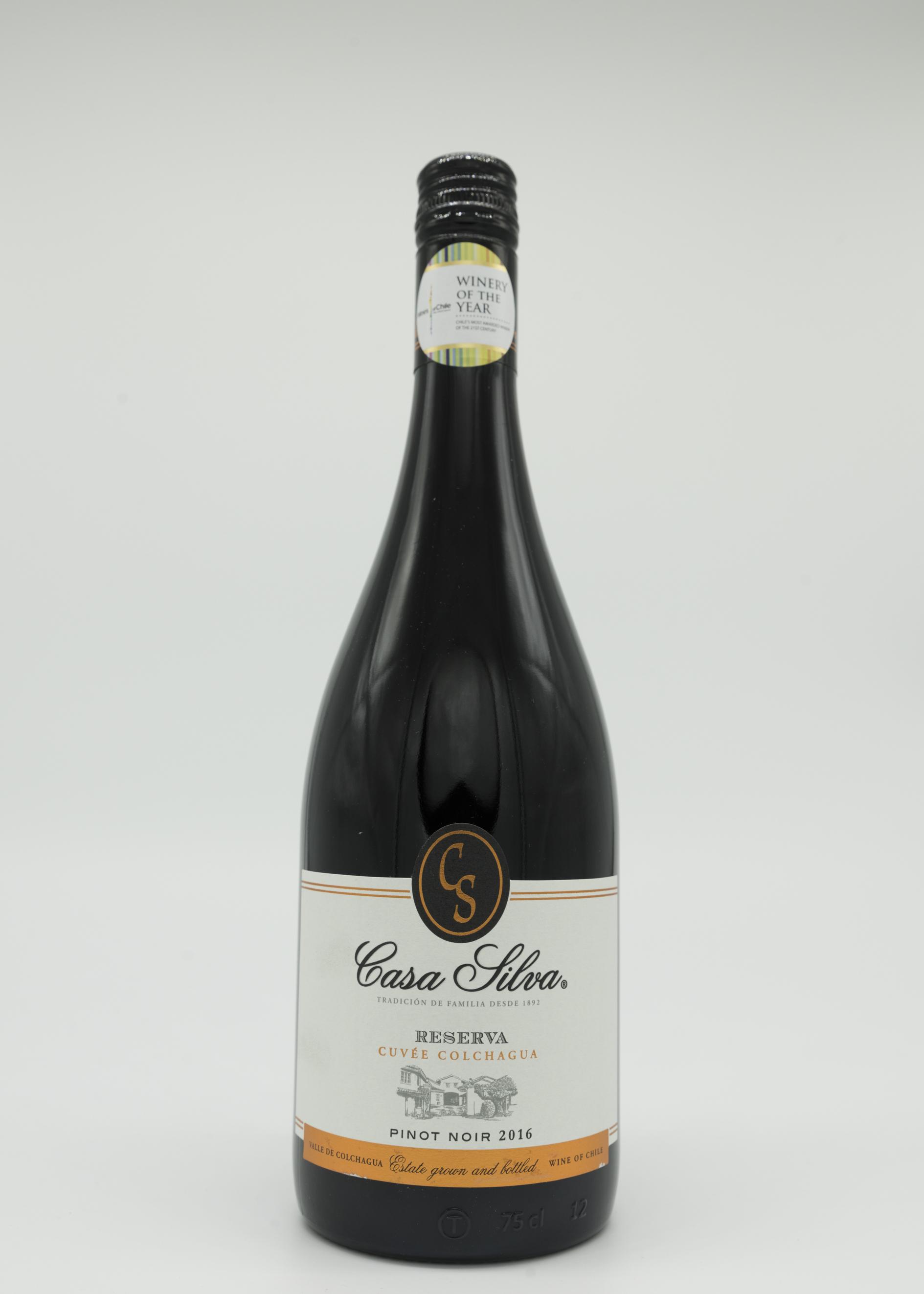 Pinot Noir Reserva Casa Silva 2018 00016
