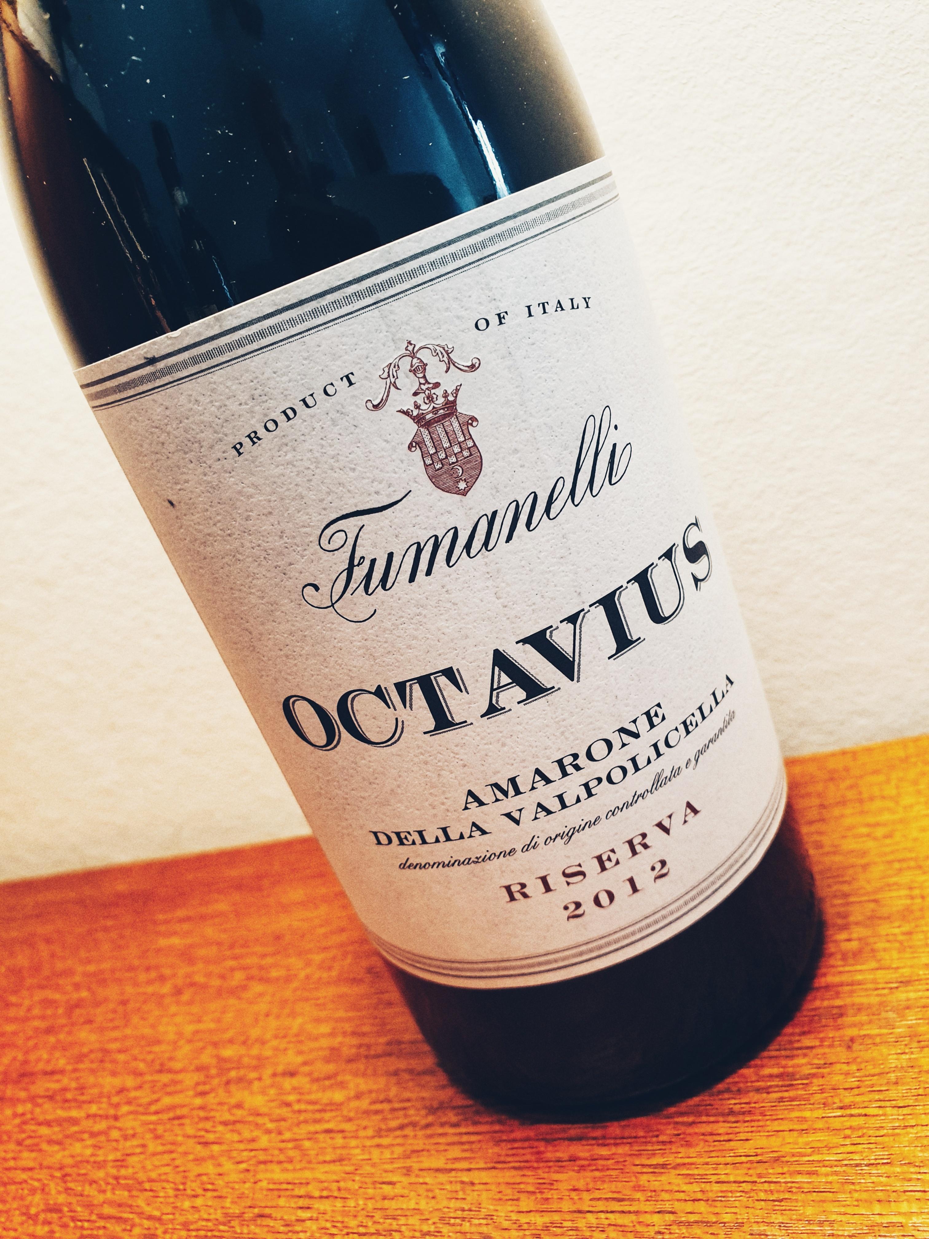 Amarone della Valpolicella Riserva 'Octavius' Fumanelli 2012