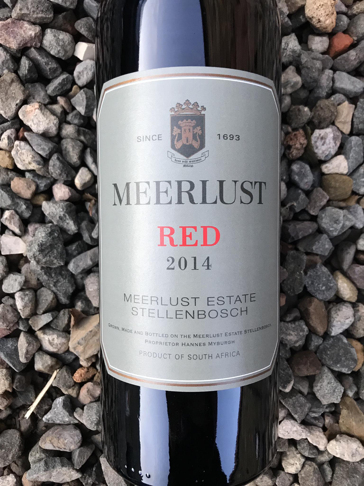 Meerlust Red 2014 (Cabernet Sauvignon/Merlot) Magnum 00082