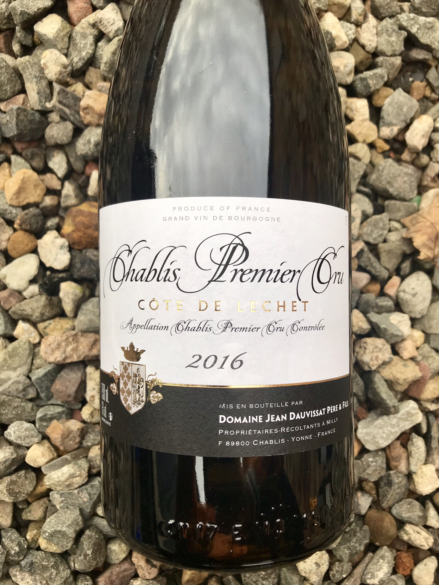 Chablis Premier Cru 'Cote de Lechet' 2016, Domaine Jean Dauvissat Magnum 00076