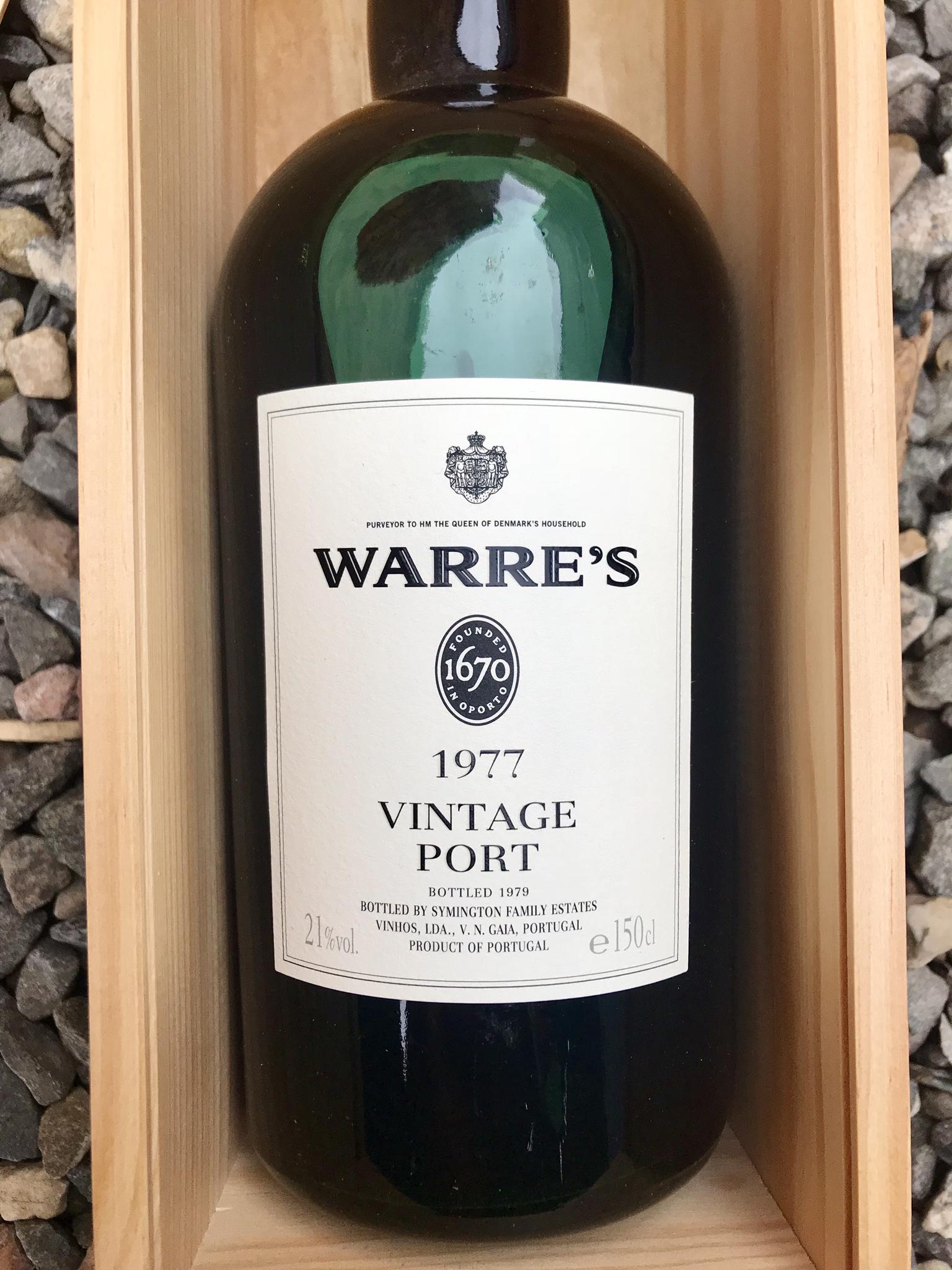 Warre's Vintage 1977 Magnum 00086