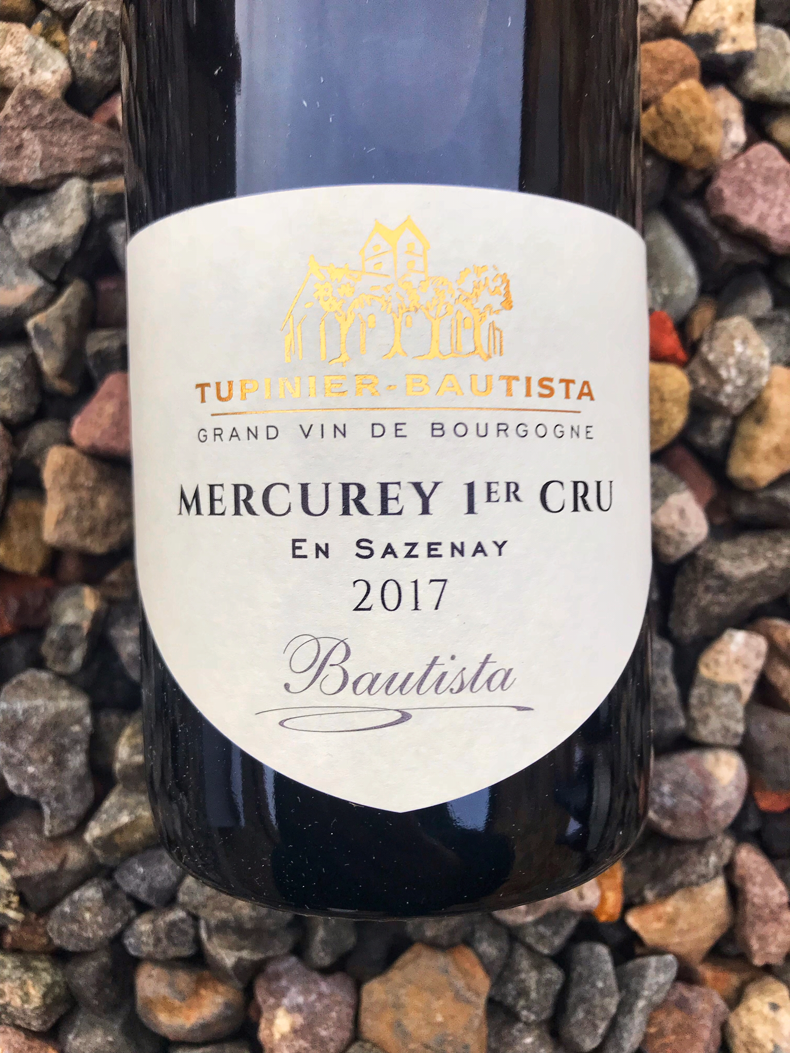 Mercurey 1er Cru 'En Sazenay' Tupinier Bautista 2017 00221