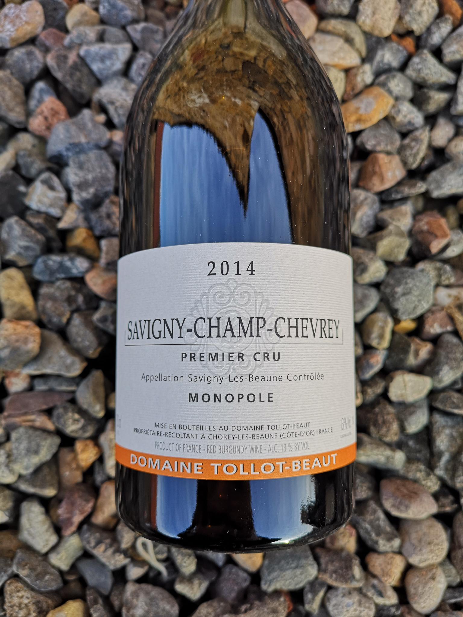 Tollot Beaut Savigny Les Beaune 1er Cru 'Champ Chevrey' 2014 00138