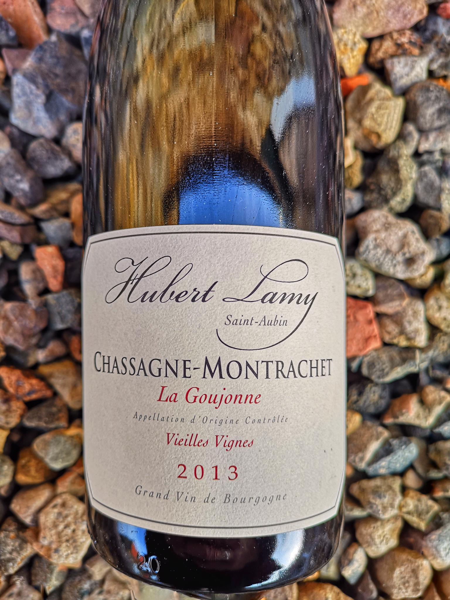 Hubert Lamy Chassagne Montrachet ROUGE La Goujonne 2013 00142
