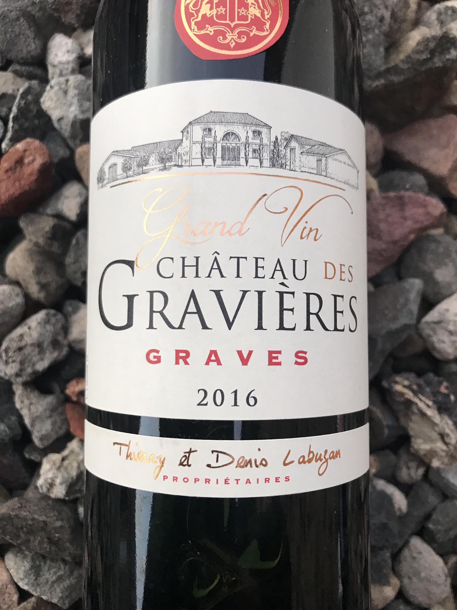 Chateau de Gravieres, Graves, 2016