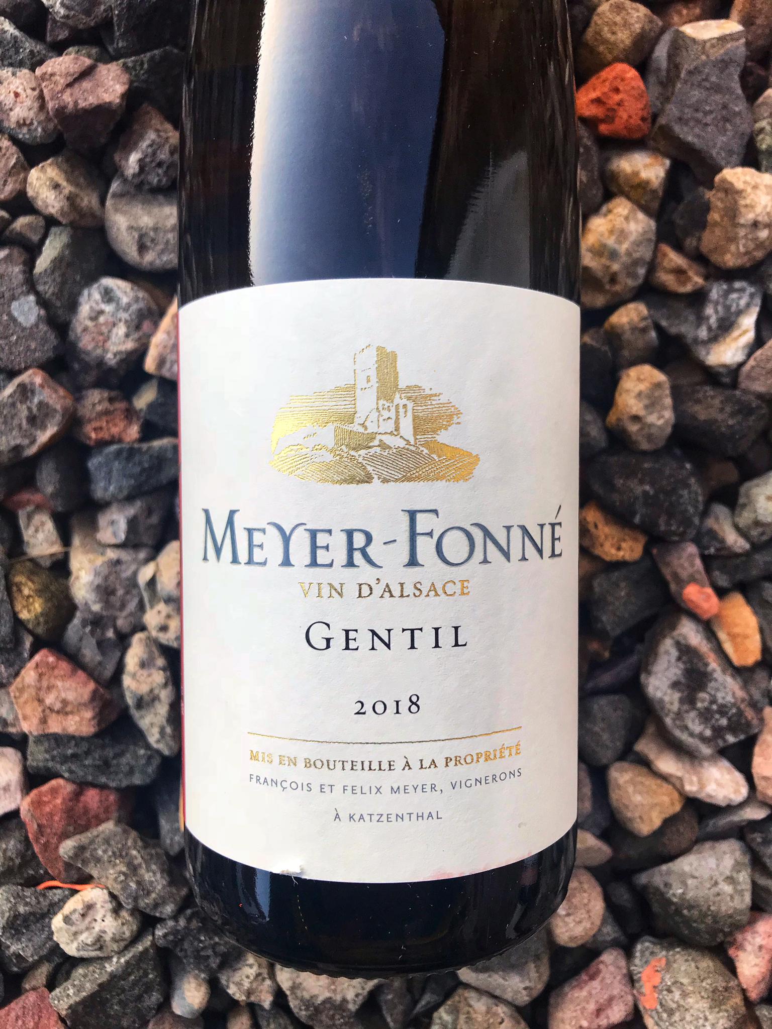 Gentil d'Alsace, Meyer Fonne, 2018