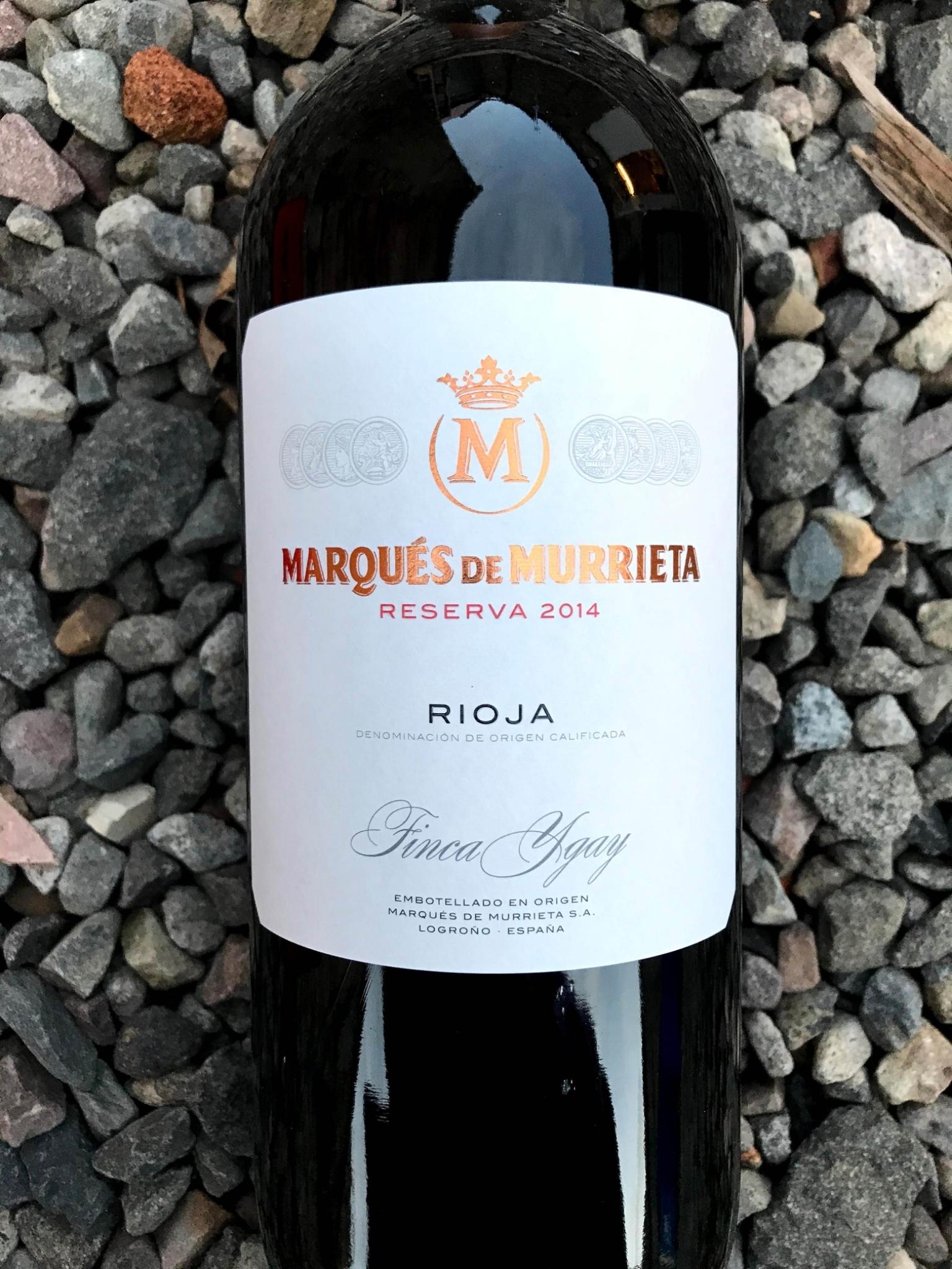 Rioja Reserva Marques de Murrieta 2015 00225