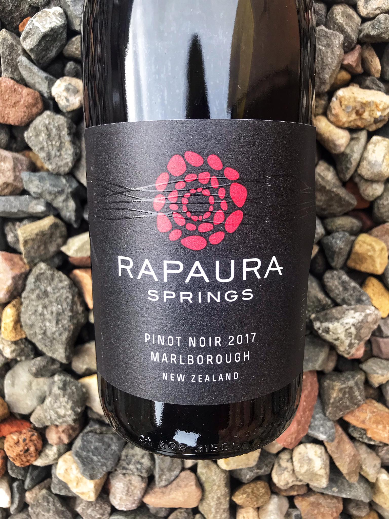 Rapaura Springs Pinot Noir 2018 00129