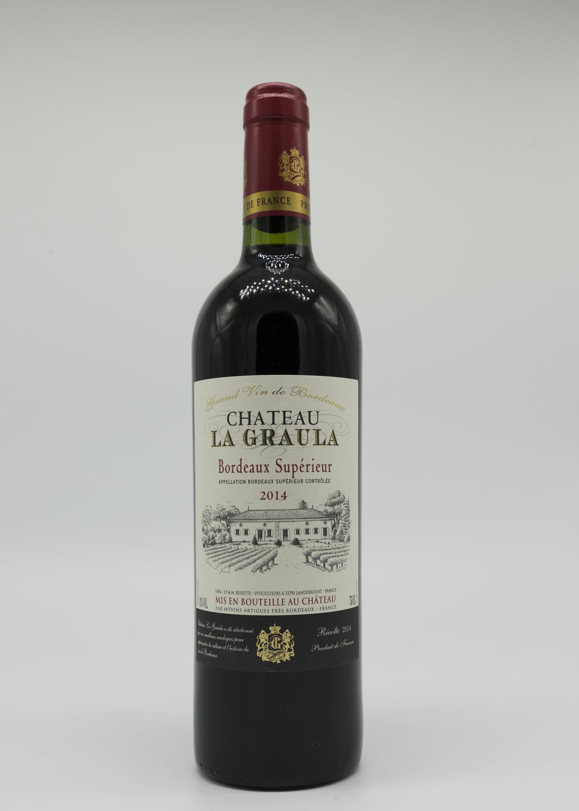 Chateau La Graula Bordeaux Superior, 2015 FR17