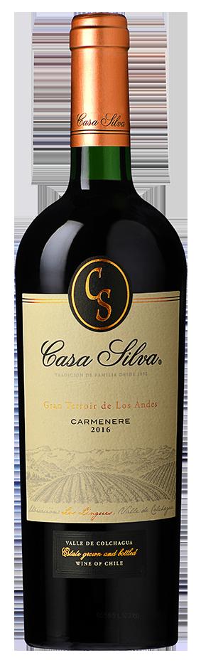 Casa Silva 'Los Lingues' Carmenere, 2017 00113