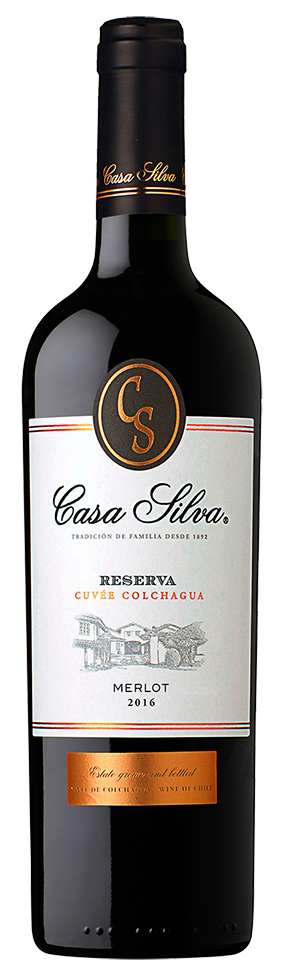 Casa Silva Reserva Merlot, 2016 00111