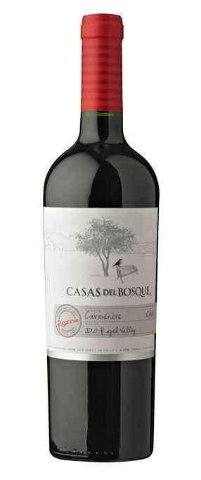Casas del Bosque Carmenere Reserva, 2017 00127
