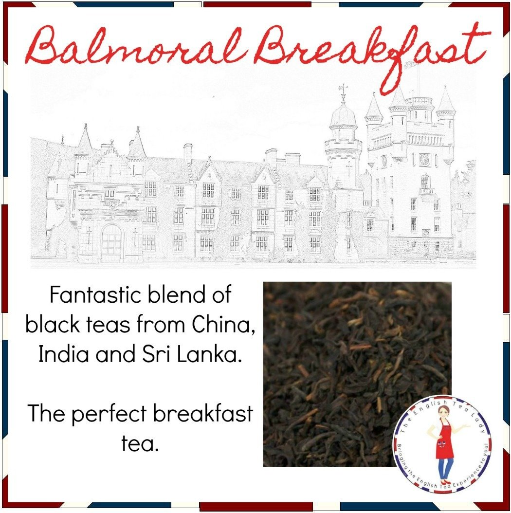 Balmoral Breakfast Tea - 2oz BLK0001A